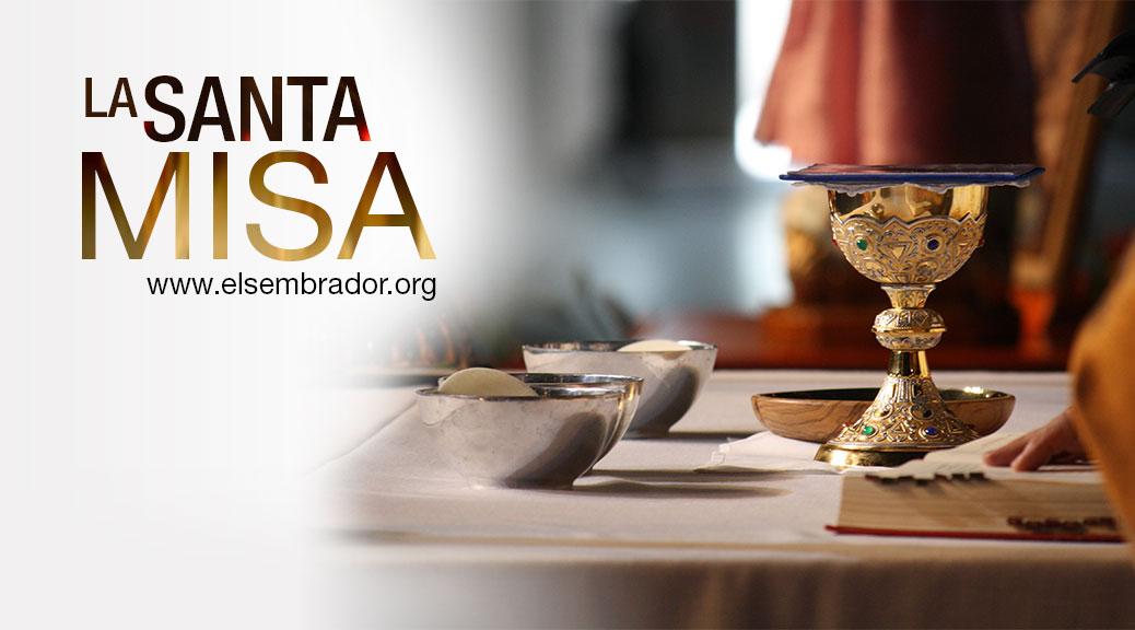 La Santa Misa en vivo