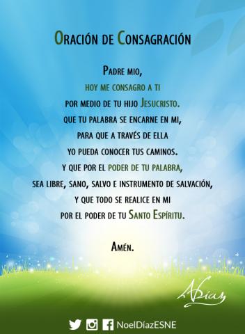 Oracion de consagracion