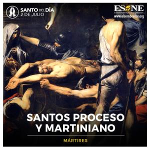 SANTOS PROCESO Y MARTINIANO